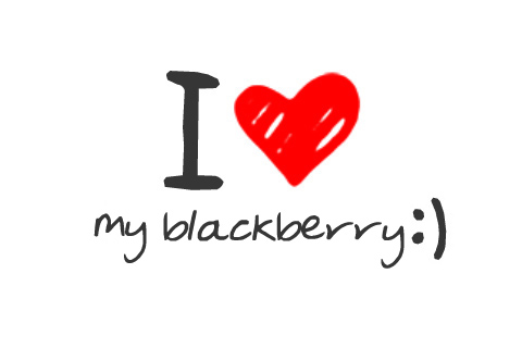 I love BlackBerry